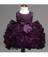 Purple Baby Dress Formal Wear Wedding,Photography,Birthday,Church Outfit - $35.57
