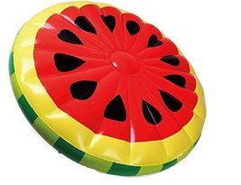 Super Big Watermelon Swimming Pool Inflatable Rafts Ring Tube 160cm
