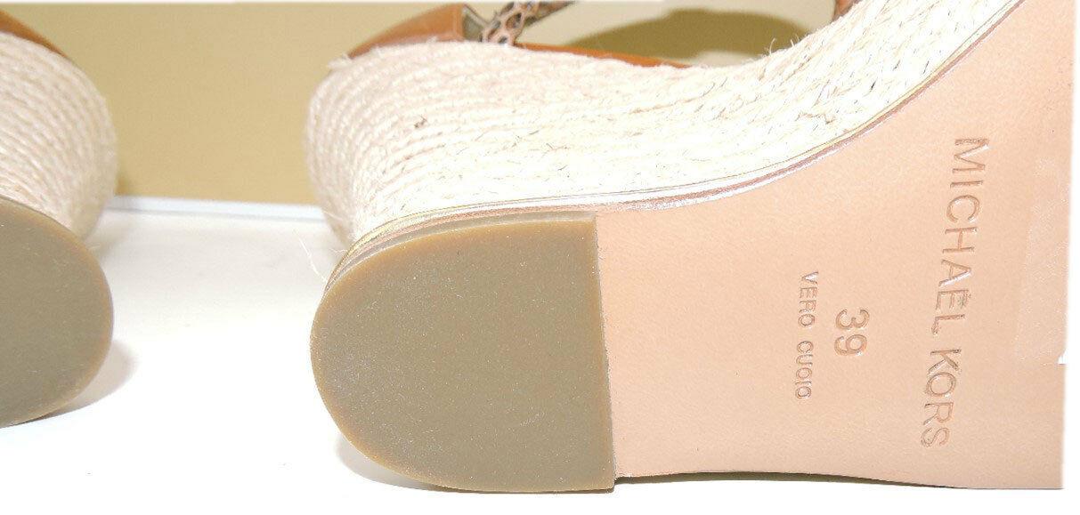 Michael Kors Zeppa Sherie Espadrillas Bagaglio Scarpa Sandalo 39 image 8