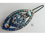 Jss blue oval barette brooch thumb155 crop