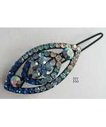 Blue Small Hair Barrette - $5.75