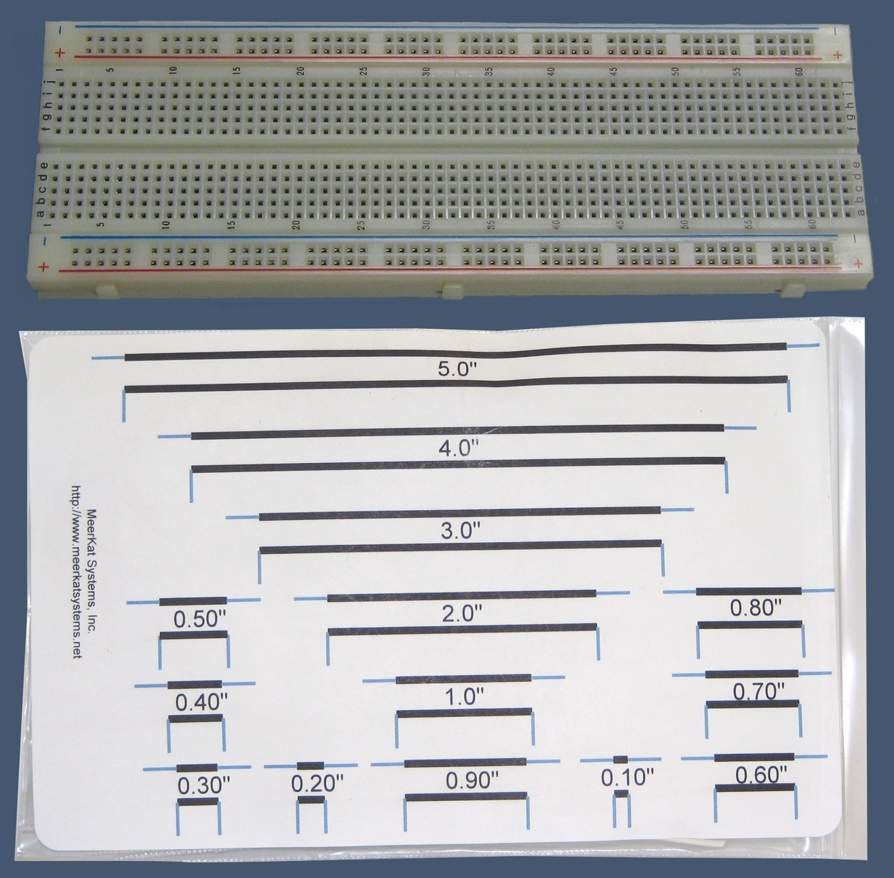 10-000-022 -Solderless Breadboard w/Wire Kit Bonanza