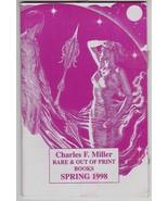 Charles Miller Rare Out Of Print Books Catalog Spring 1998 - Virgil Finl... - $5.45