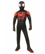 Rubies Marvel Spider Man Miles Morales Deluxe Childs Halloween Costume 7... - $34.99