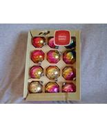 Vintage Shiny Brite Rainbow Christmas Ornaments... - $41.00