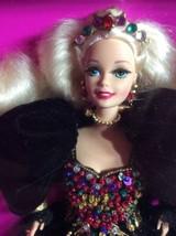 FAO Exclusive Jeweled Splendor Barbie w/Shipper MIB! Black Gown Schwarz ... - $94.58