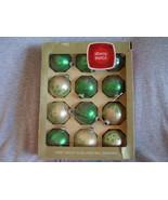 Vintage Christmas Large Shiny Brite Glass Mica ... - $44.00