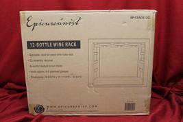Vinotemp EP-STACK12G Epicureanist Stackable or Countertop Wine Rack, NEW... - $63.13
