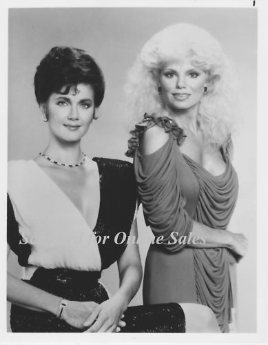 Crime Partners Lynda Carter Lonnie Anderson 8x10 Photo