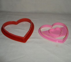 Valentine Heart Play-Doh Plastic Heart Shape Cutters image 2