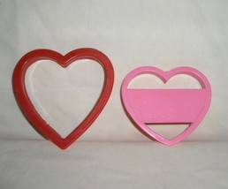 Valentine Heart Play-Doh Plastic Heart Shape Cutters image 3