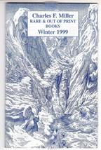 Charles Miller Rare Out Of Print Books Catalog Winter 1999 - Virgil Finl... - $5.50