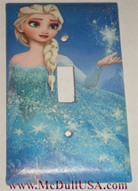 Frozen Elsa Light Switch Toggle Rocker Duplex Outlet wall Cover Plate Home decor image 1