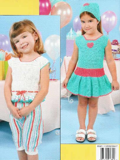 *Crochet Summer Sweeties - Little Girls WARDROBE for Summer