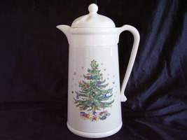 Nikko Ceramics Happy Holiday Thermal Insulated Carafe by AK DAS - $45.00