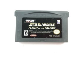 Star Wars Flight of the Falcon Gameboy Advanced Game GBA Cartridge Only  - $7.95