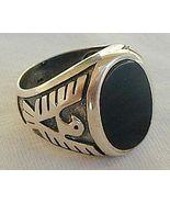 Silver man ring - $26.00