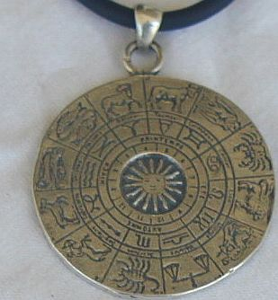 .Horoscope pendant