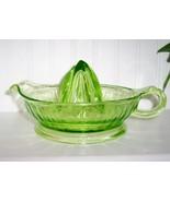 Federal Glass Green Depression Huge Reamer/Juicer - $29.99