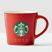 NEW 2016 Starbucks Red Holiday Demi Espresso Mug Cup 3oz W/ holiday gift... - $16.95