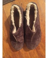 UGG BROWN SHEARLING LINED Loafer/Mocassin/Mule Flats Shoes SIZE 9 - $22.99