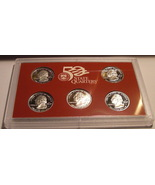1999 - S Silver Proof Set Rare! First Year of State Quarters - $174.99