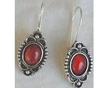 Mini red glass earrings 1 thumb155 crop