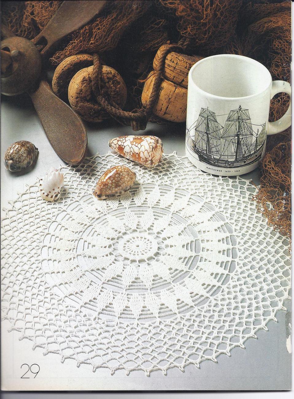 Decorative Crochet Pattern Magazine #18~~29 Patterns