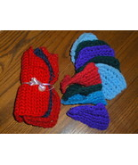 Crochet Dish Cloths And Dish Scrubby Set - $11.97