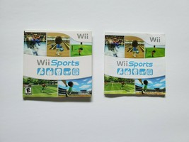 Wii Sports Nintendo Wii Instruction Manual & Sleeve Only - Good - $9.95