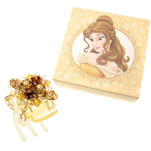Disney Store Japan Beauty and the Beast Bell Wallofsky Crystal Hair Clip... - $137.61