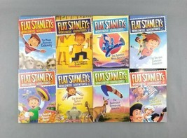 Flat Stanley's Worldwide Adventures by Jeff Brown Mixed Lot of 8 Paperba... - $19.79