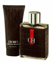 Carolina Herrera Ch Men 2 Piece Gift Set Eau De Toilette Spr 100ML T/P-65086810 - $118.31