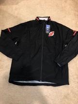 NWT Adidas New Jersey Devils NHL Hockey Full Zip Rink Jacket Men's Size ... - $49.49