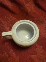 "Hand-painted Nippon Sugar Bowl Missing Lid 3"" wide (not including arm) x 2"" tall image 3"