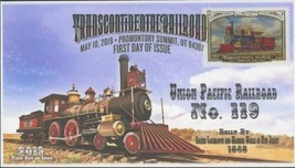 Transcontinental Railroad Union Pacific No. 119 FDC First Day Issue 2019 - $26.73
