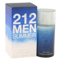 212 Summer Eau De Toilette Spray (Limited Edition) By Carolina Herrera - $59.80