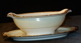 Noritake China Japan Goldora 882 Gravy Bowl AA20-2137 Antique image 2