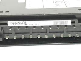 GE FANUC IC693MDL645D INPUT MODULE 24VDC 16PT POS/NEG LOGIC W/OUT WIRING ARM image 2