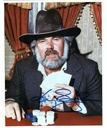 "Kenny Rogers Signed Autographed ""The Gambler"" Glossy 8x10 Photo - COA Matching H - $69.29"