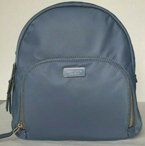 New Kate Spade New York Dawn medium Backpack handbag Nylon Concell Blue - $104.00