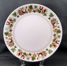 "Noritake Homecoming Salad Plate 8.25"" White Birds Fruit Progression 9002 - $9.90"