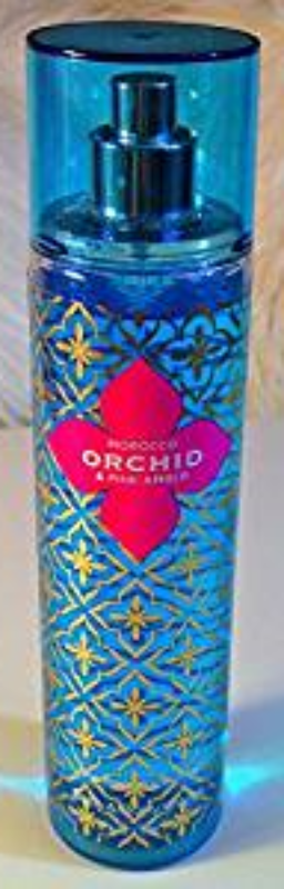 Bath & Body Works Morocco Orchid & Pink Amber 8 oz 236 ml Fine Fragrance Mist Sp image 1