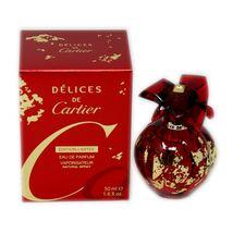 Cartier Delices De Cartier Perfume 1.6 Oz Eau De Parfum Spray image 4