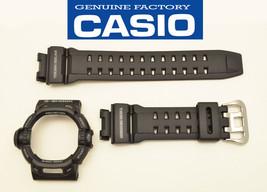 CASIO G-Shock WATCH BAND & BEZEL G-9200 GW-9200 GW-9200J  BLACK ORIGINAL  - $44.05