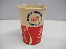 Coca-Cola American Bicentennial Paper Cup - BRAND NEW - $1.97