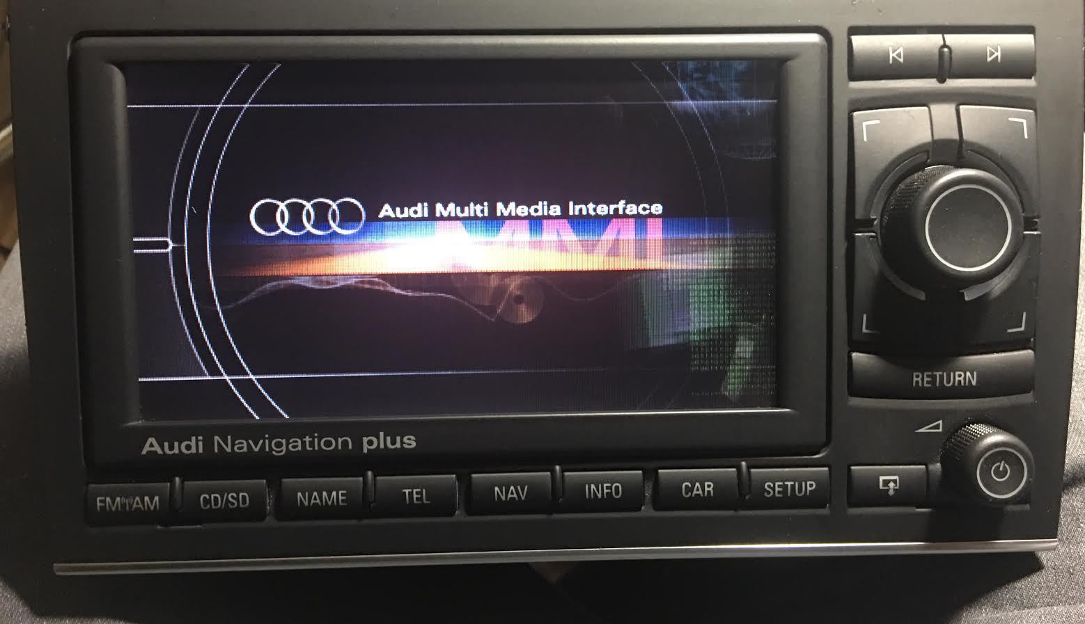 Audi A4 Rnse Navigation System Plus Monitor and 33 similar items