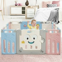 14-Panel Foldable Baby Playpen Kids Activity Centre - new (cy) - $156.99