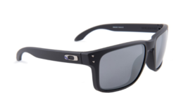 New Authentic Oakley Holbrook OO9102-D455 Blue/Black w/Black Iridium Sun... - $98.99