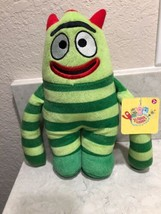 "Brobee Yo Gabba Gabba Brobee Plush Doll Stuffed Toy 10"" A8 - $13.95"